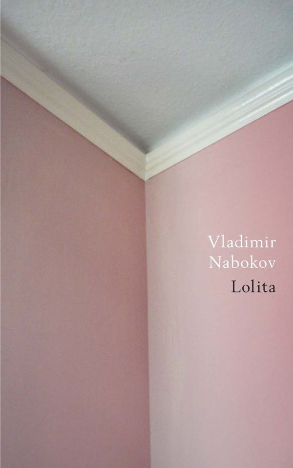 A new cover design of Vladimir Nabokov's Lolita by Jamie Keenan