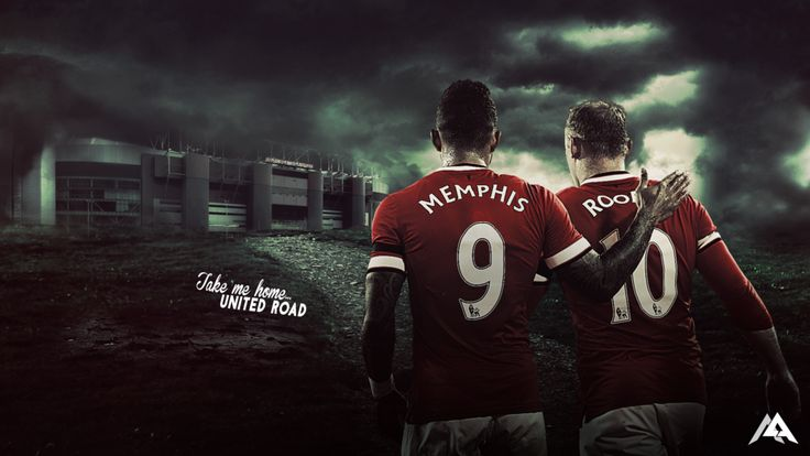 Take me home… by MaRaYu9 Wallpaper with Memphis adn Rooney!
