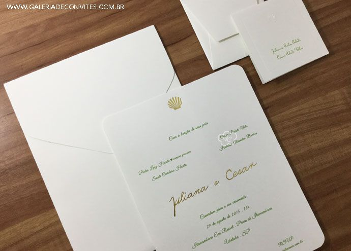 identidade visual casamento JC - Galeria de Convites