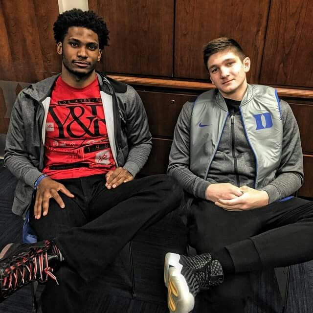 Justise Winslow and Grayson Allen
