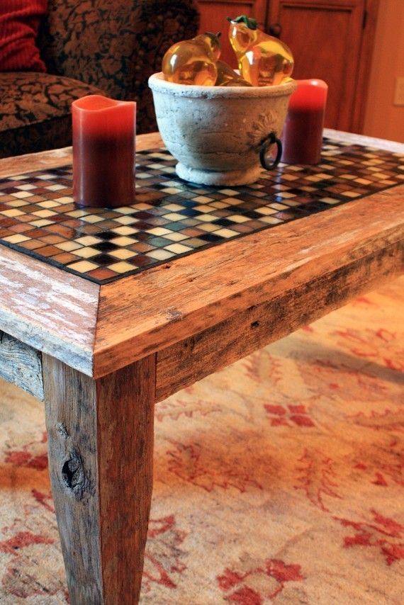 love this handmade coffee table :-)