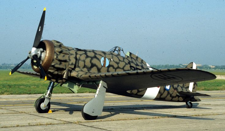 The Macchi M.C.200 Saetta was an Italian fighter during the Second World War. This model was captured during the Nord African campaing, transferred in Unites States and was restored in 1989. Now it is on display at USAF Museum.