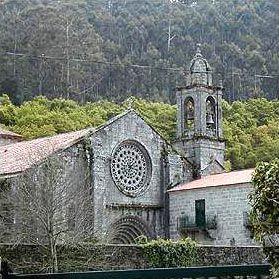 Monasterio de Armenteira  Galicia  Spain