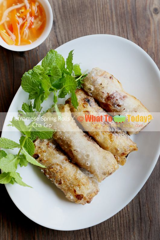 VIETNAMESE SPRING ROLL (about 25 rolls) | Recipe