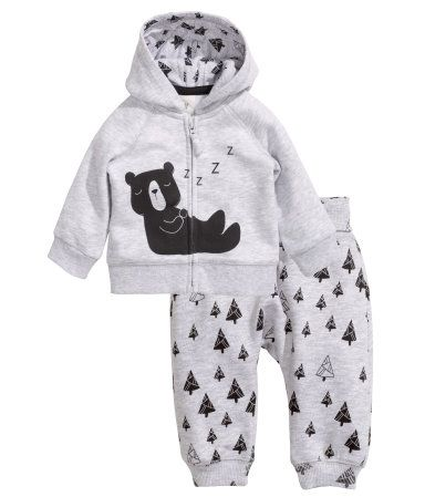 H&M Hooded Jacket and Pants $19.95