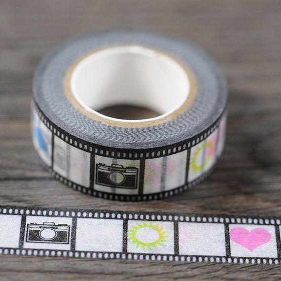 Washi tape película 15mmx10m cinta adhesiva por MagicalElement