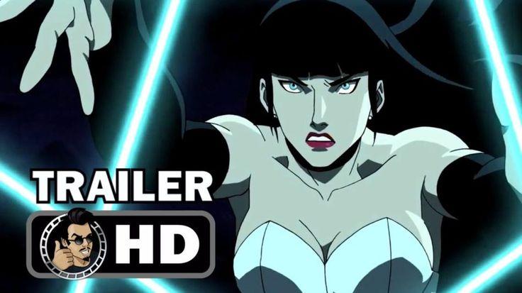 JUSTICE LEAGUE DARK Official International Trailer (2017) Animation DC Superhero Movie HD