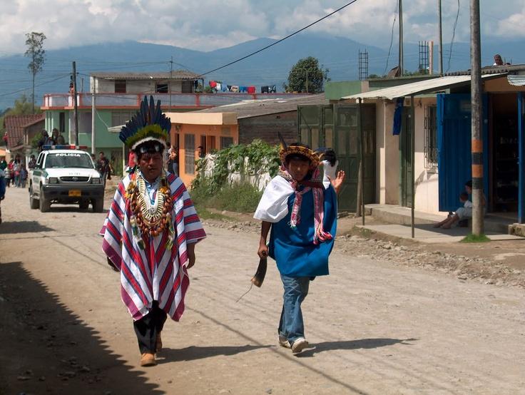 Fiestas del perdon en Sibundoy - Putumayo - Colombia