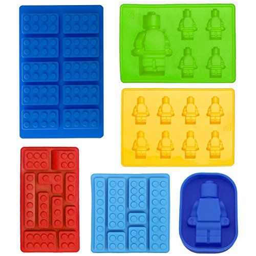 buy now   £9.99     Fun for kids and adults silicone mold! Just stay creative! You can make so much more projects with these Lego jello molds like fondant, chocolates, hard candy,  ...Read More