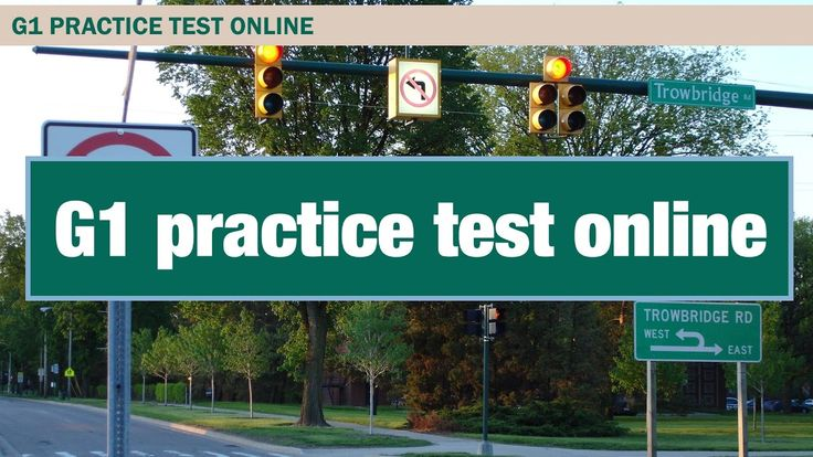 G1 practice test online driving test preparation #1