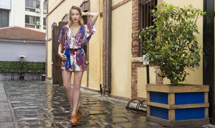 Ολόσωμες φόρμες για το καλοκαίρι: Boho style