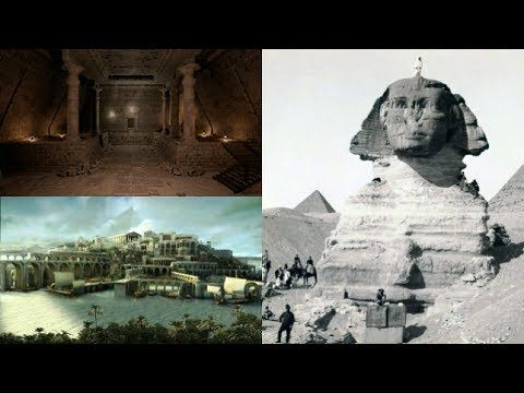 Close Encounters UFO: Hall Of Records, Great Sphinx of Giza, Atlantis An...