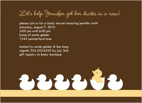 Rubber Ducky Birthday Invitations - Ivoiregion