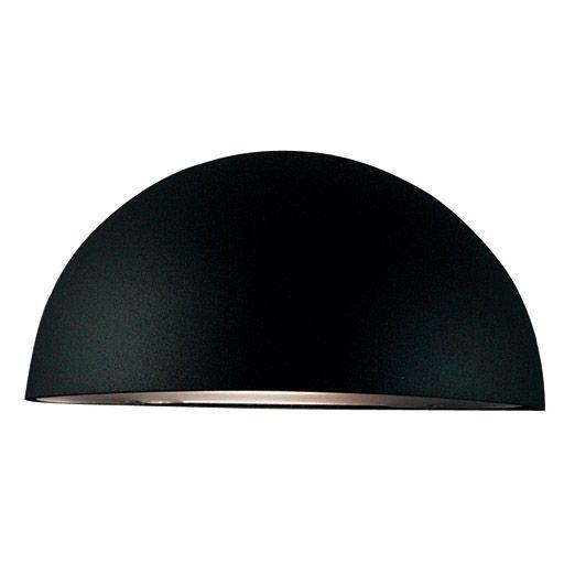 Vägglampa Scorpius Svart Stilren och modern mattsvart lampa från Nordlux som ger ett vackert ljus mot husväggen. Denna armatur finns även i vit, galvanise