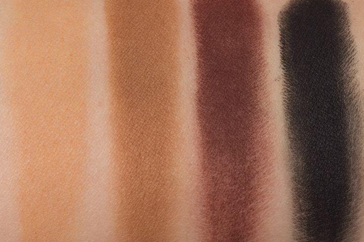 Melt Cosmetics Dark Matter Swatches