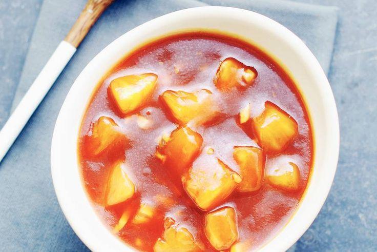 Kijk wat een lekker recept ik heb gevonden op Allerhande! Chinese zoetzure saus