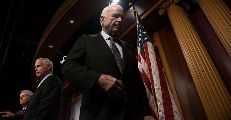 #MONSTASQUADD Senate Republicans Close In on Health Bill but Face Revolt