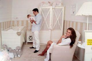 CARACOLAS.DECO: Las habitaciones de los bebés de las celebrities