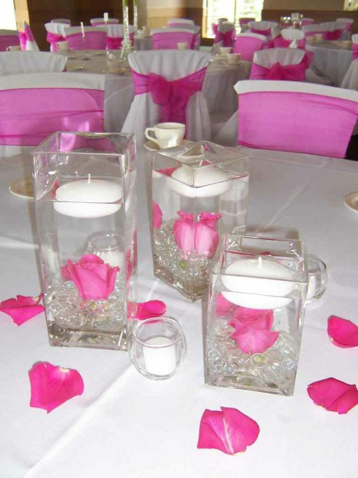 centre table mariage idee