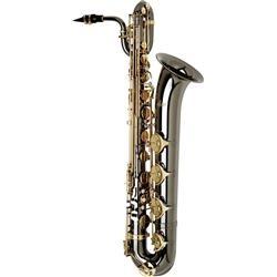 Allora Paris Series Professional Black Nickel Baritone Saxophone Price:$2275 Style: AABS-955 - Black Nickel Body - Brass Lacquer Keys