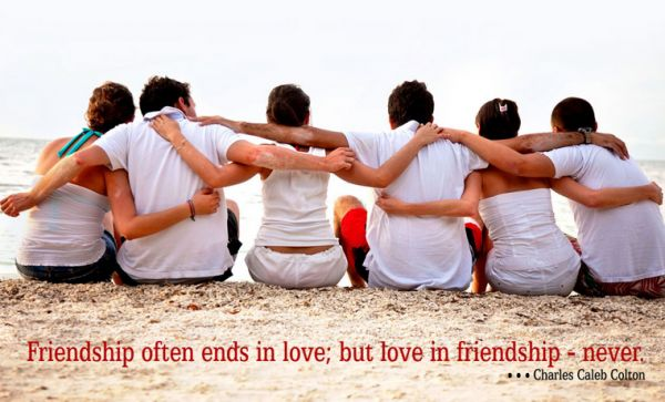 Friendship Ends In Love