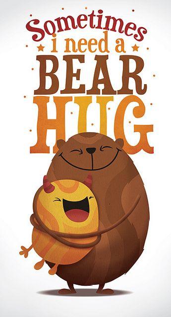 abrazo de oso <3 | oscar ospina