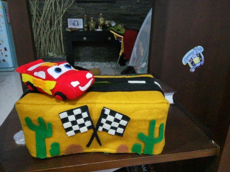 Disney cars tissue case