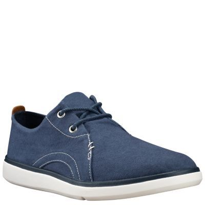 Timberland Men's Gateway Pier Oxford Shoes Navy Canvas