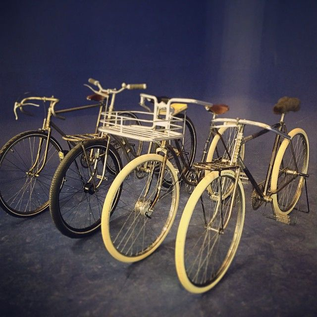 """""""and yes - the vignette family of CHHUBER bicycles - cuties!"""""""