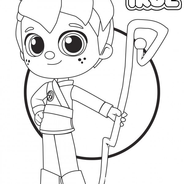 Zee from True and the Rainbow Kingdom Coloring Pages in ...
