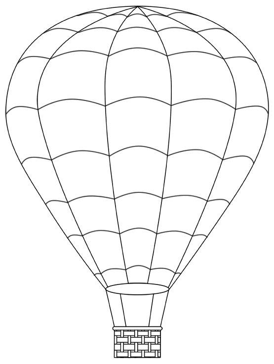 картинки раскраски воздушный шар с корзиной частности, презентация