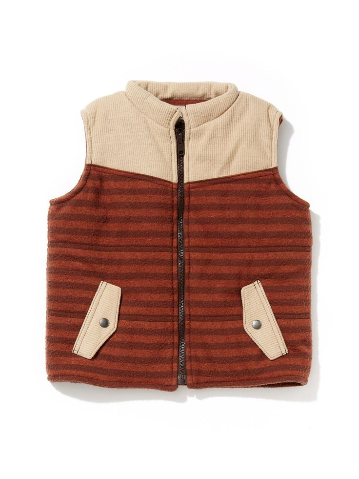 Polar Stripe Vest By Kapital K At Gilt Striped Vests