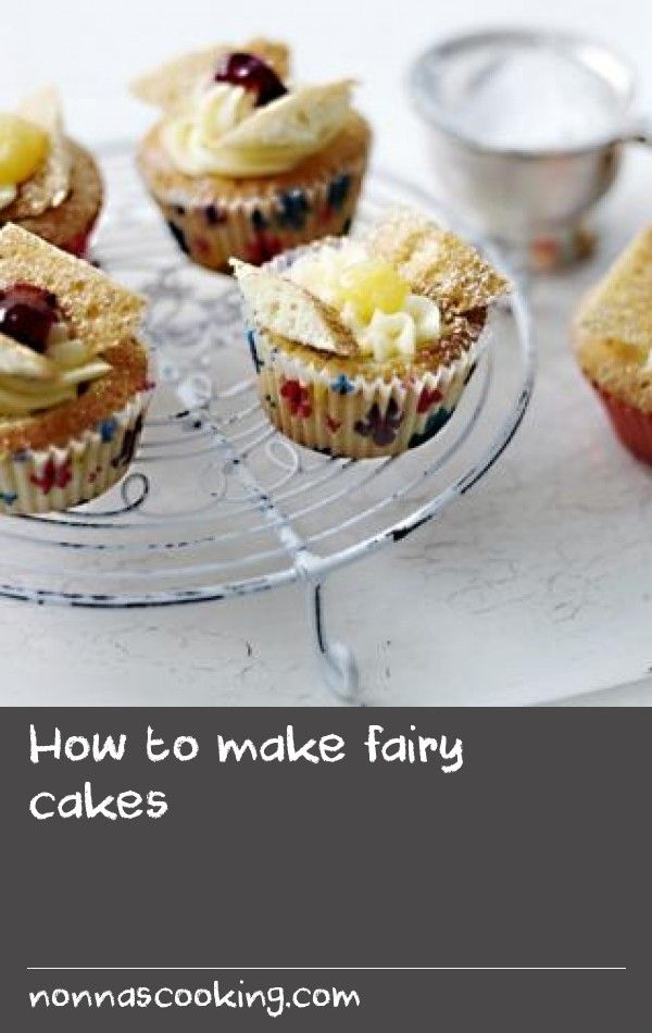 How to make fairy cakes        Become a fairy cake master! With this foolproof, easy recipe for fairy cakes and buttercream icing you can't go wrong.
