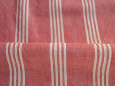 Antique Vintage French TICKING fabric upholstery stripe | eBay