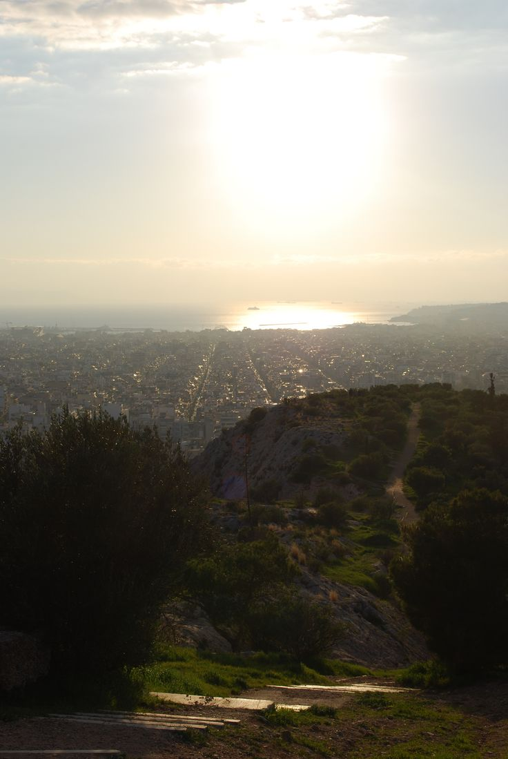 """Athens-From Filopappou hill"" 2015-By Anda Anastasopoulou"