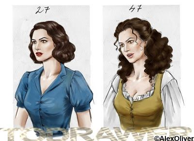 Another Look Book Reviews: Outlander Fan Art by the gifted Alex Oliver