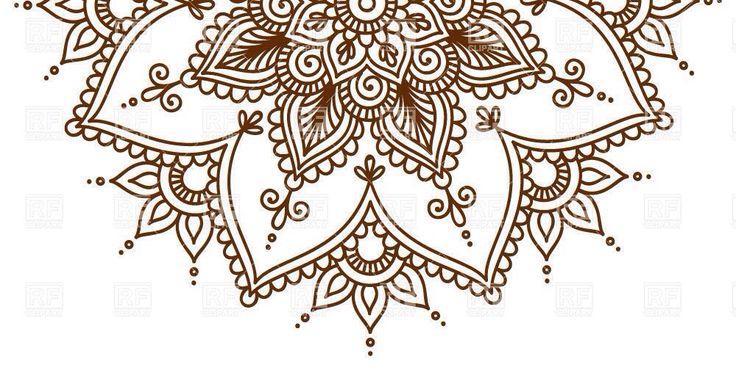 Half mandala for sternum | Mandala tattoo | Pinterest ... - photo#28