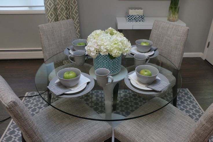 Dining Room | Furniture Staging | LILLIAN AUGUST FURNISHINGS & DESIGN