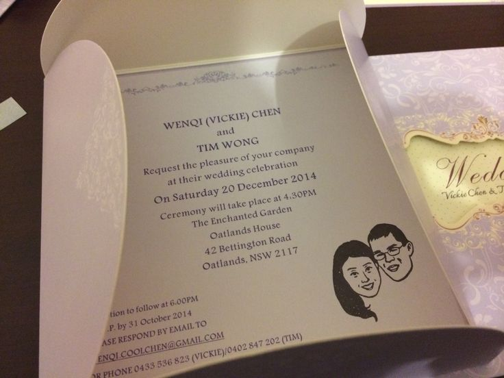 Wedding invite~