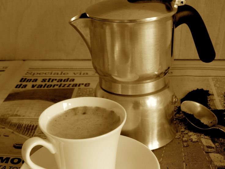 How to get the best cuppa out of your Italian Moka Pot.