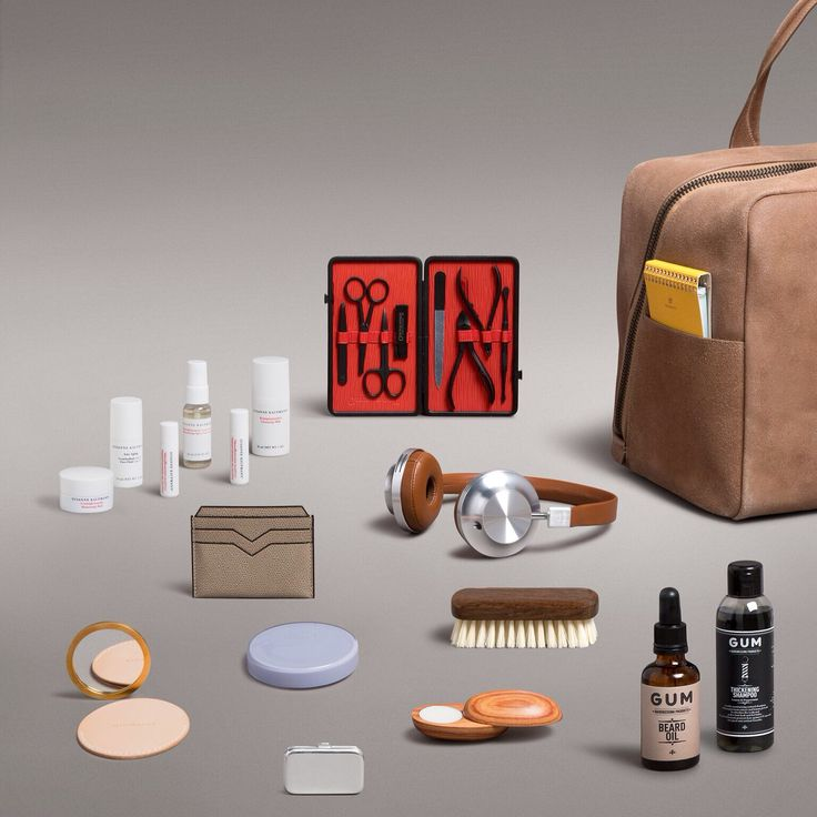 Pack it in. Travel essentials, from high-definition headphones to skin-saving moisturising kits. Discover more on www.store.wallpaper.com