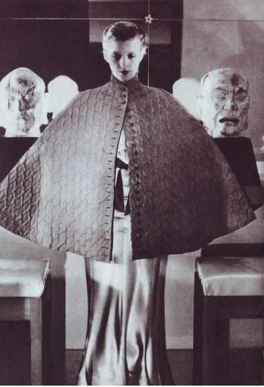 Elsa Schiaparelli photographed by Baron de Meyer, 1933 I own original print. This is my great aunt. Muse and bestfriend to Dali and Cocteau and the life of the House of Schiaparelli.