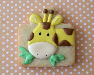 Sugary Flower: Giraffe Cookie