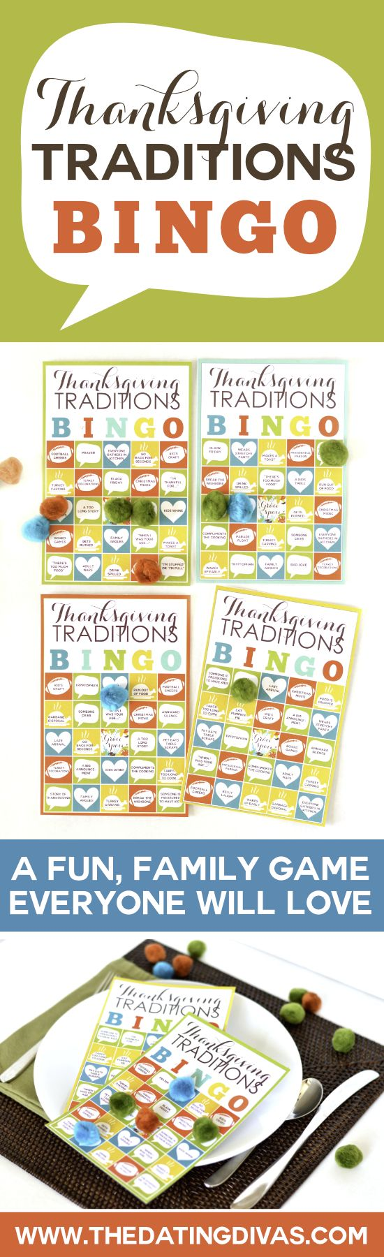 599 best images about thanksgiving on pinterest Fun family thanksgiving games