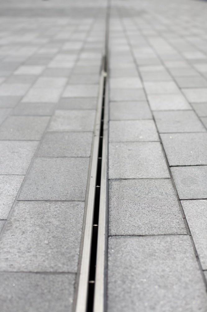 detalhe de piso #SlotDrain #canaleta