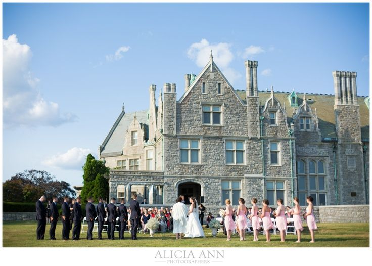 Rachel Anthony S Branford House Wedding