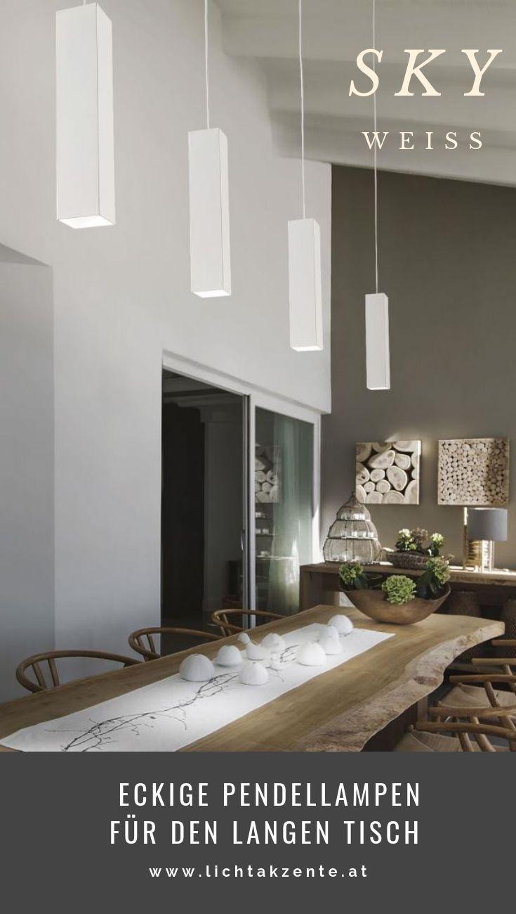 Ideal Lux eckige LED Hängeleuchte Sky in 2019 | Moderne ...