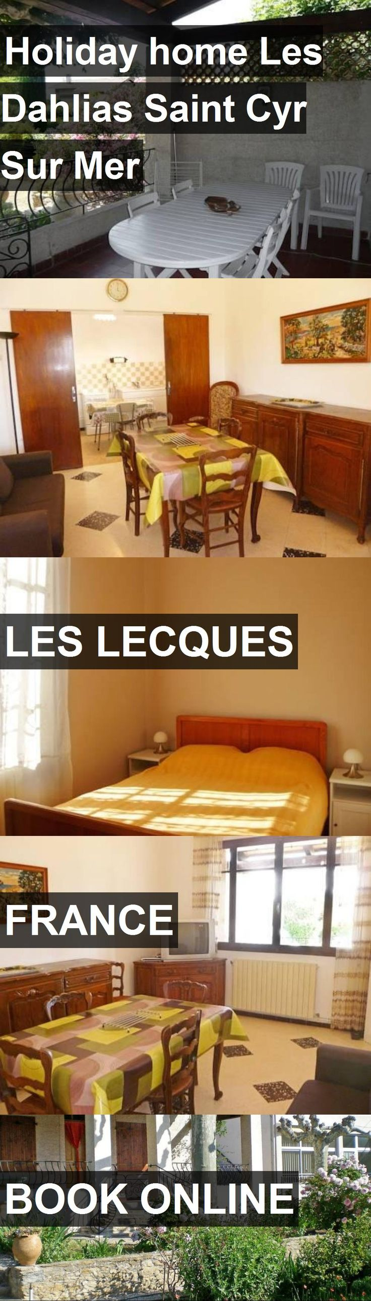 Hotel Holiday home Les Dahlias Saint Cyr Sur Mer in Les Lecques, France. For more information, photos, reviews and best prices please follow the link. #France #LesLecques #travel #vacation #hotel