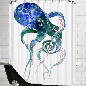 Best 25 Octopus Shower Curtains Ideas On Pinterest
