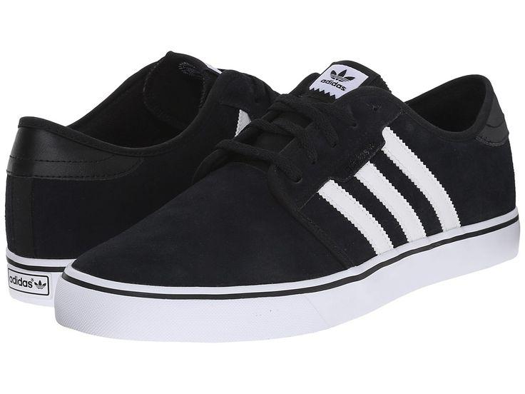 adidas Skateboarding - Seeley (Black/White/Black Suede) Men's Skate Shoes :https://athletic.city/athletic-shoes/stores/adidas-skateboarding-seeley-blackwhiteblack-suede-mens-skate-shoes/